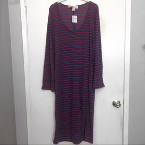 Free people Red and Blue Cover up